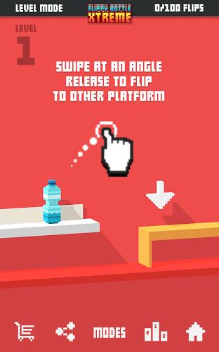 Играй Flippy Bottle Extreme! На ПК 10