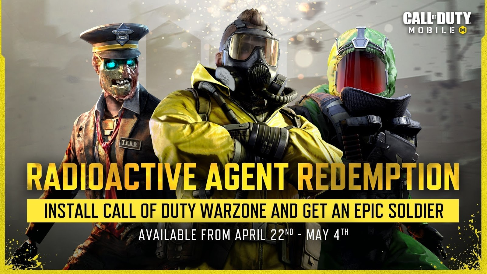 Call of Duty: Mobile Season 3 Introduces Night Mode 2.0, Radioactive Agent Redemption, And More