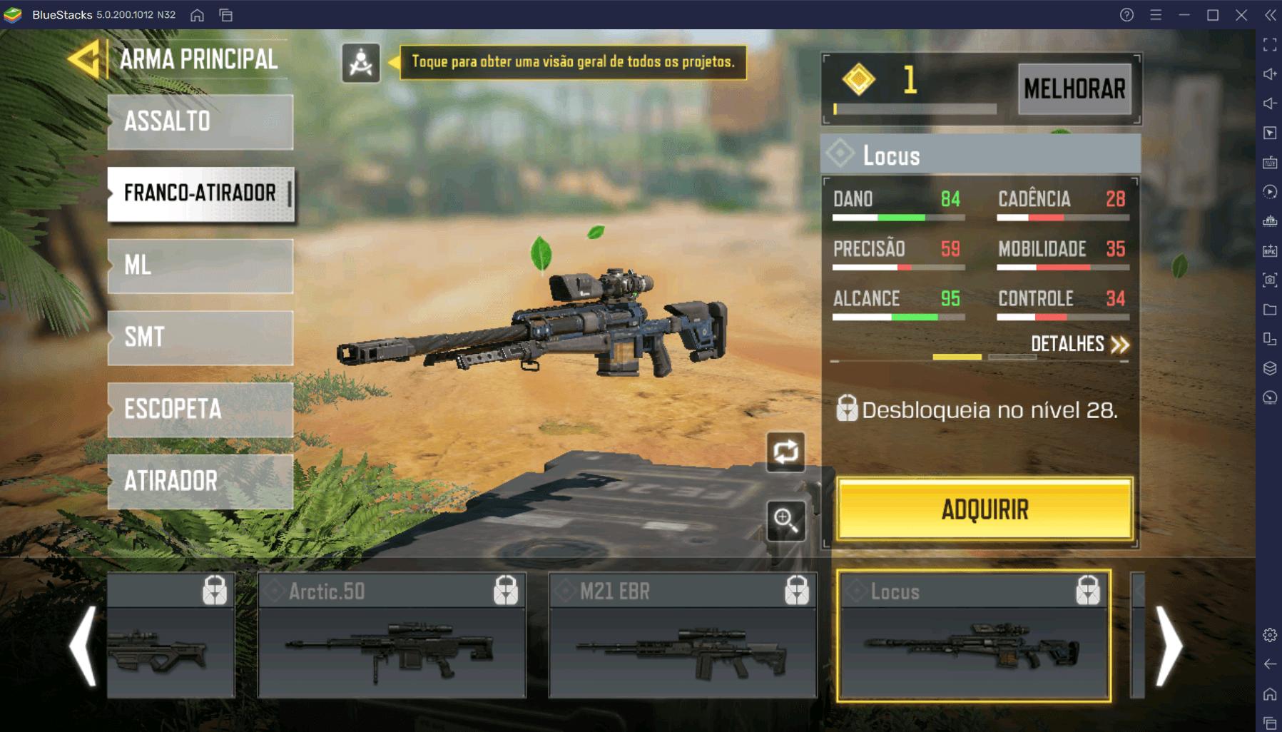Que armas usar na quarta temporada de Call of Duty: Mobile