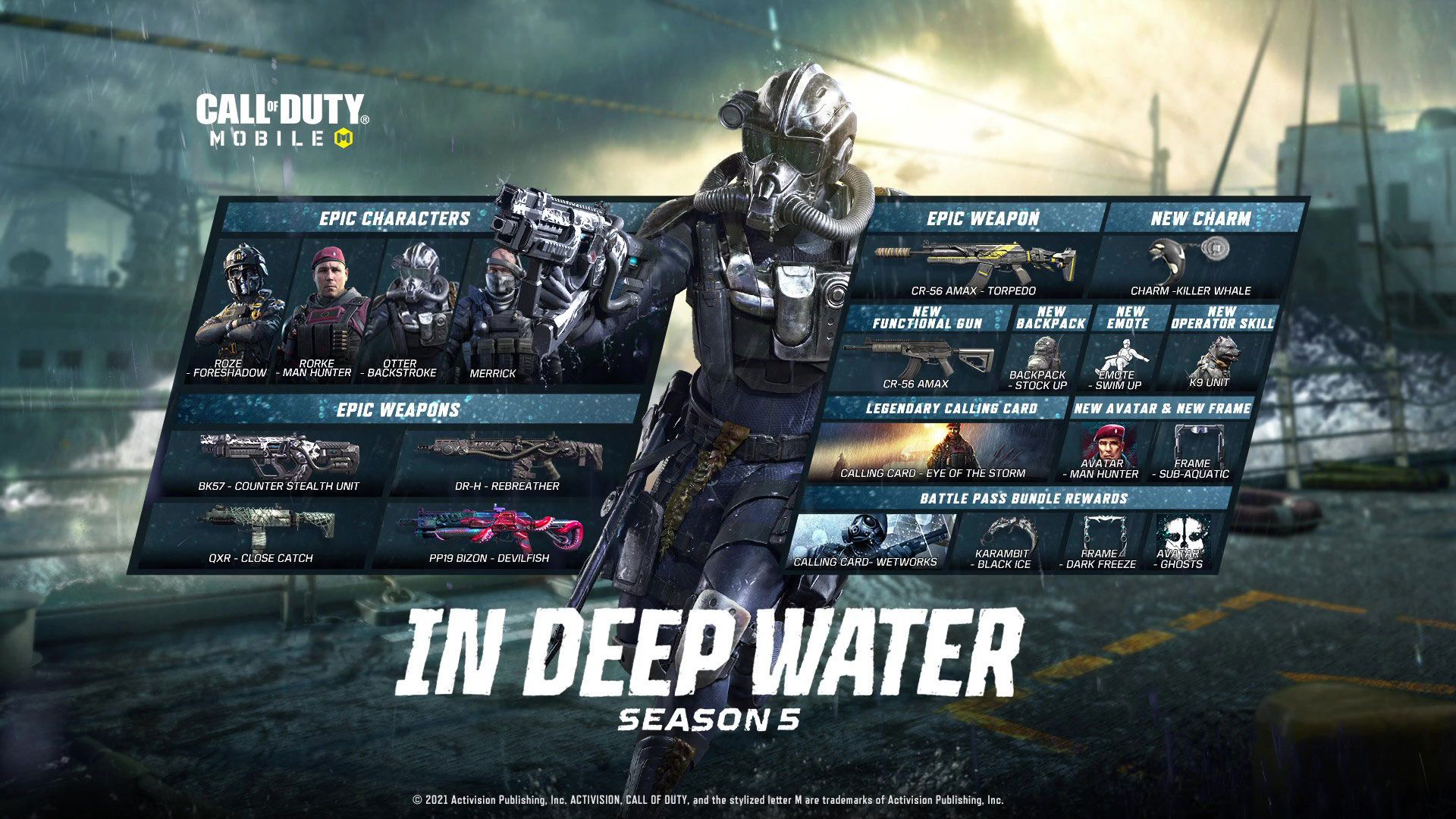 Everything New Coming to Call of Duty: Mobile in Season 5: In Deep Water