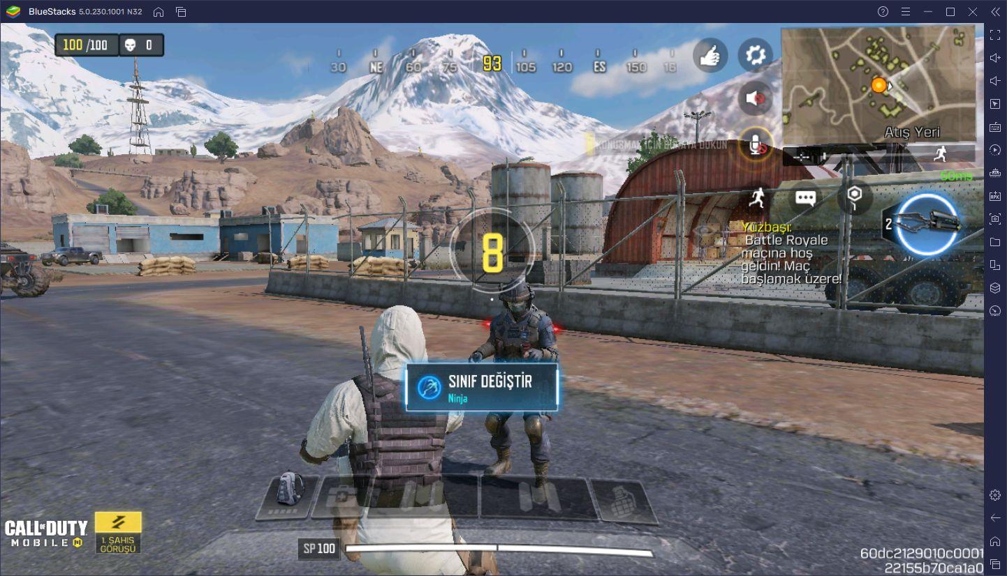 Call of Duty Mobile Battle Royale Taktikleri