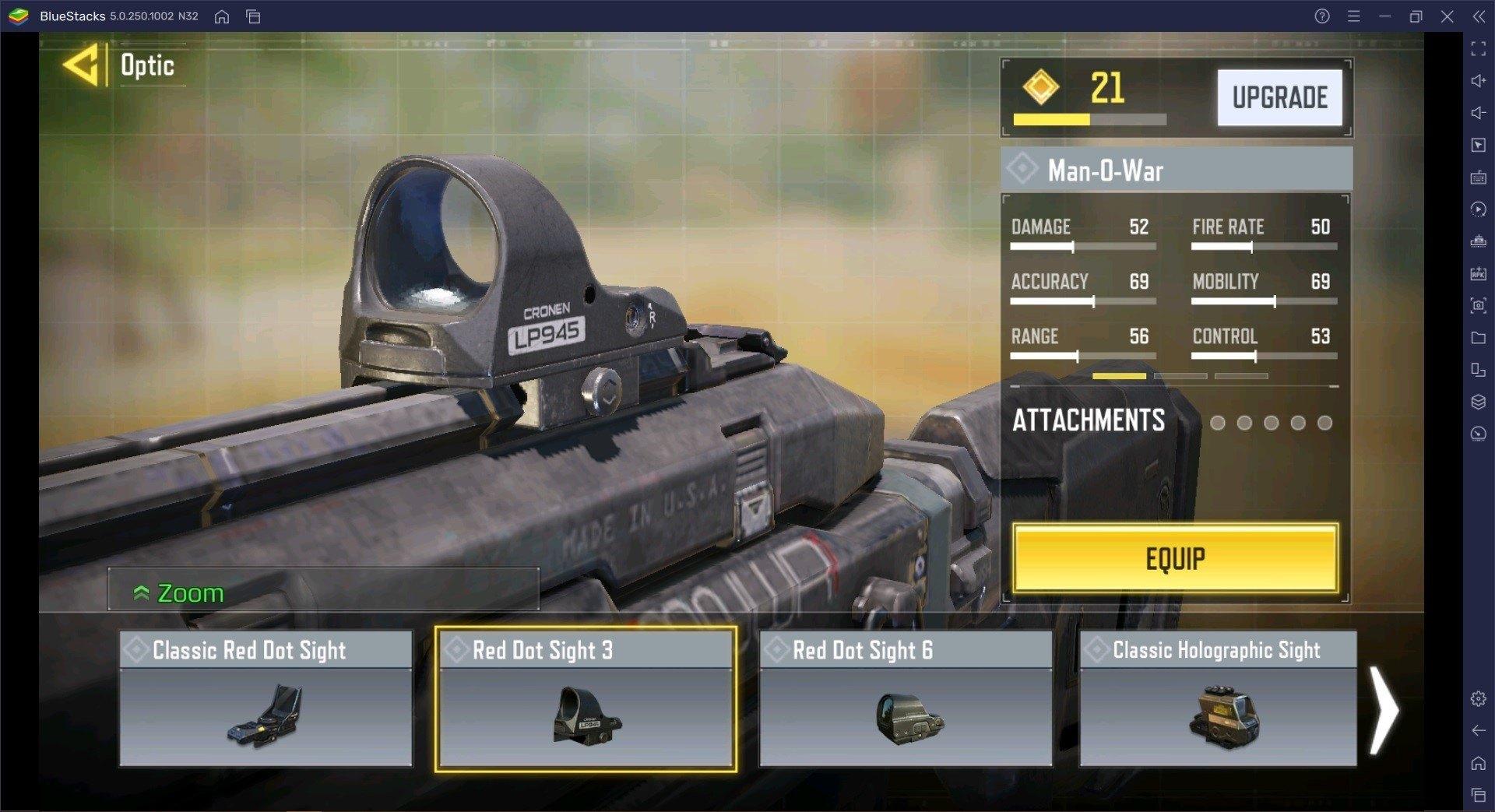 Call of Duty Mobile Man-O-War Waffen Leitfaden für Season 5