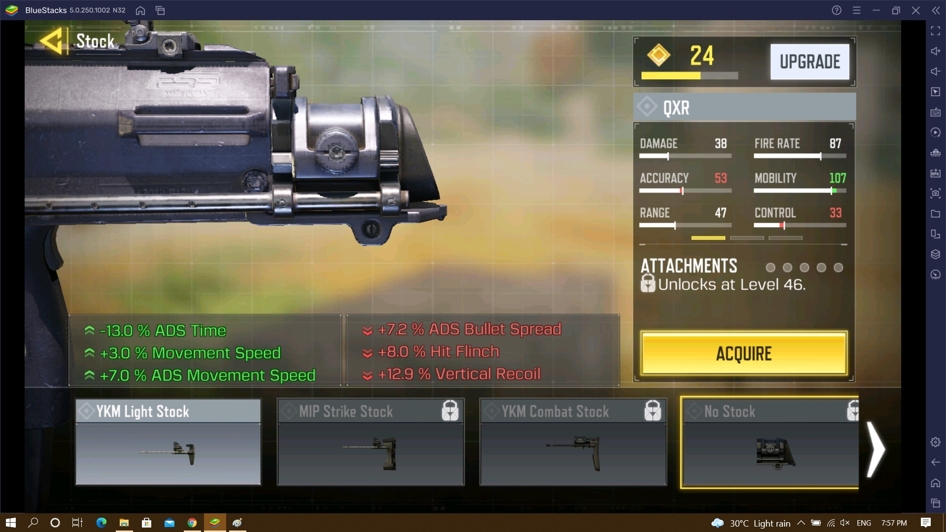 Call of Duty: Mobile Weapon Guide for QXR