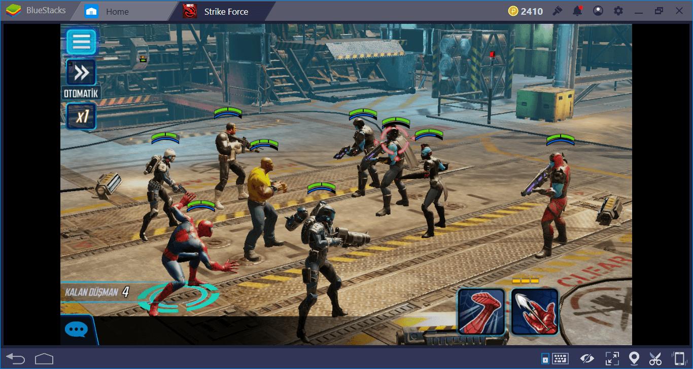 MARVEL Strike Force Yeni Başlayanlar Rehberi