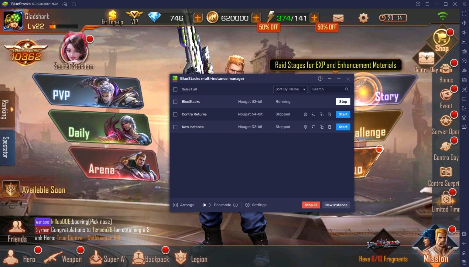 Comment Jouer à Contra Returns sur PC avec BlueStacks