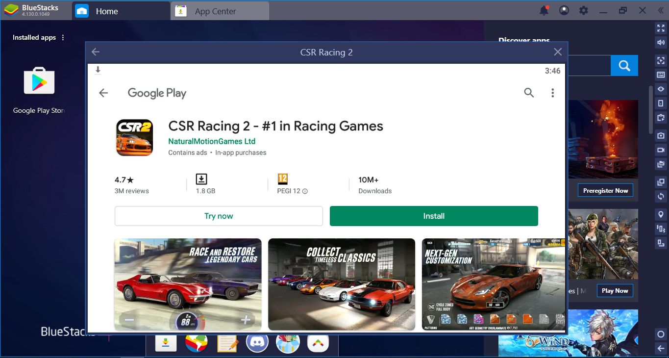 BlueStacks Setup Guide For CSR Racing 2: Get Ready To Drive