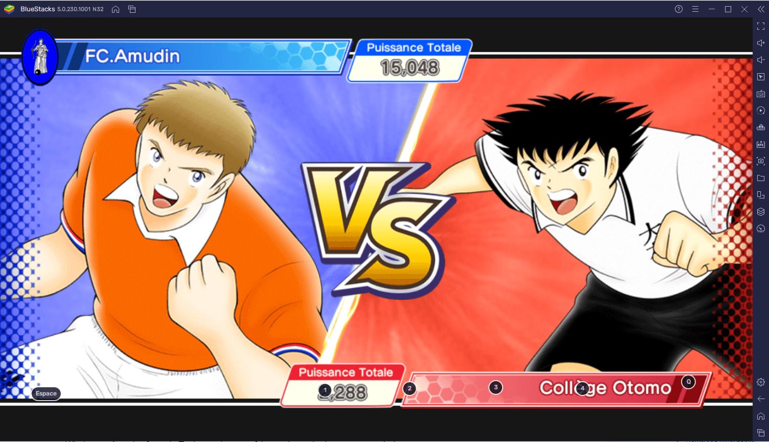 Comment Jouer à Captain Tsubasa: Dream Team sur PC avec BlueStacks