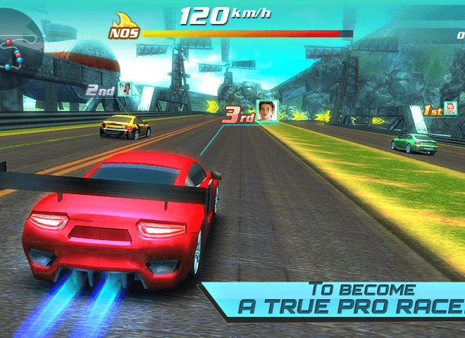 Play Drift car city traffic racer on pc 10