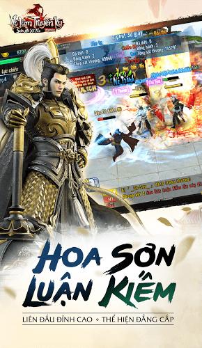 Chơi Võ Lâm Truyền Kỳ Mobile on PC 4