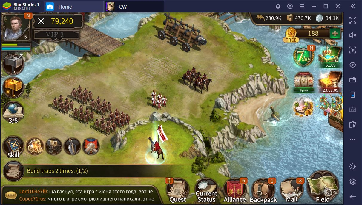 Civilization War on PC: A Guide to Troops and Combat