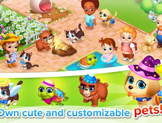 Play Family Farm seaside on PC 12
