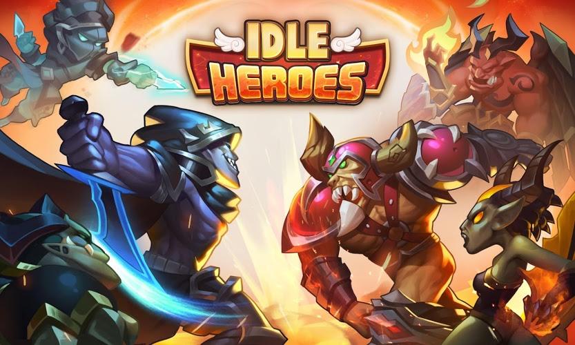 Spiele Idle Heroes auf PC 10