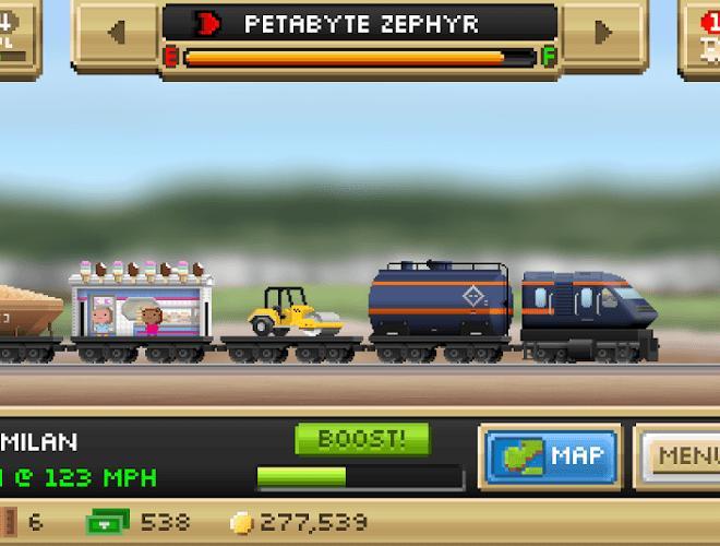 Играй Pocket Trains На ПК 5