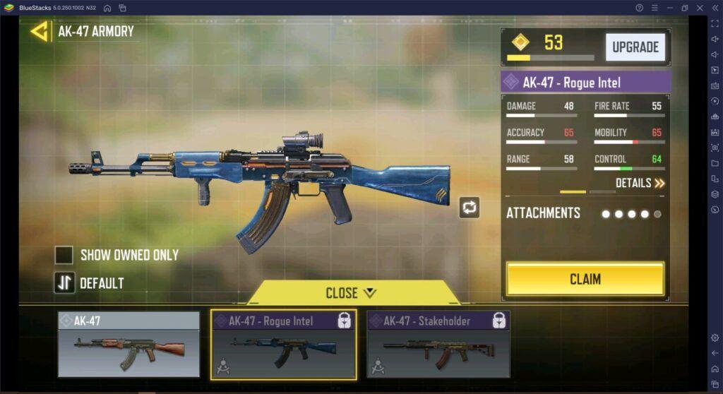 Call of Duty Mobile Weapon Guide, Die AK-47 geht zum Büchsenmacher