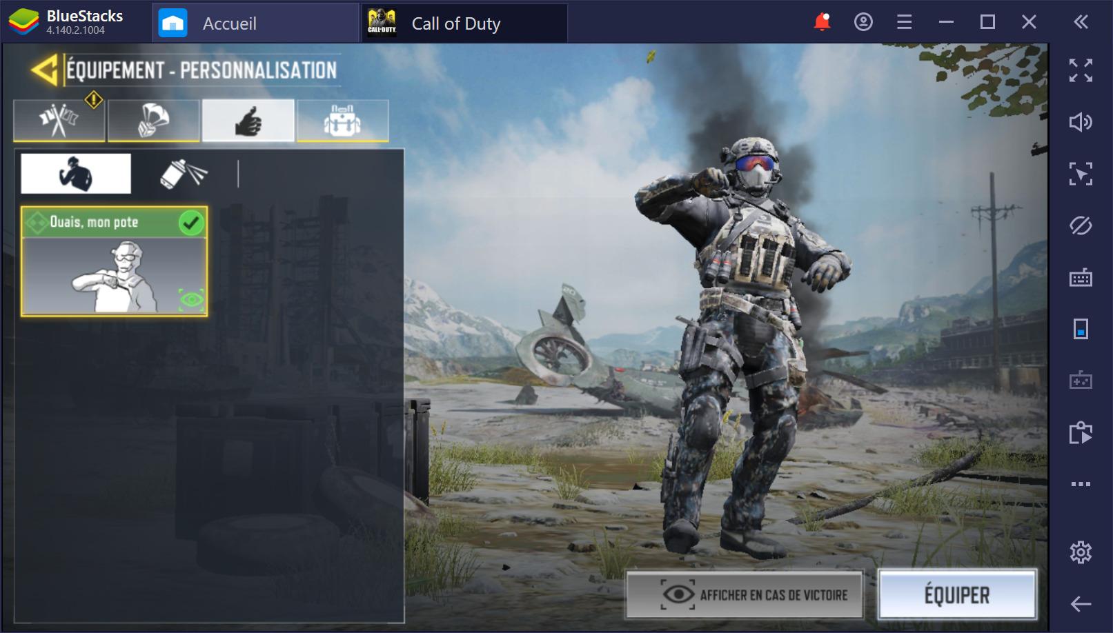 Call of Duty (CoD) Mobile sur PC débarque sur BlueStacks