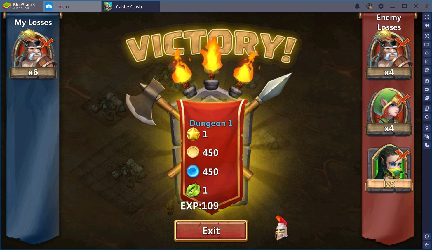 Dominando a tus Enemigos en Castle Clash con BlueStacks