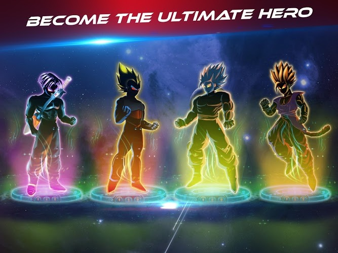 Play Dragon Shadow Battle Warriors: Super Hero Legend on PC 11