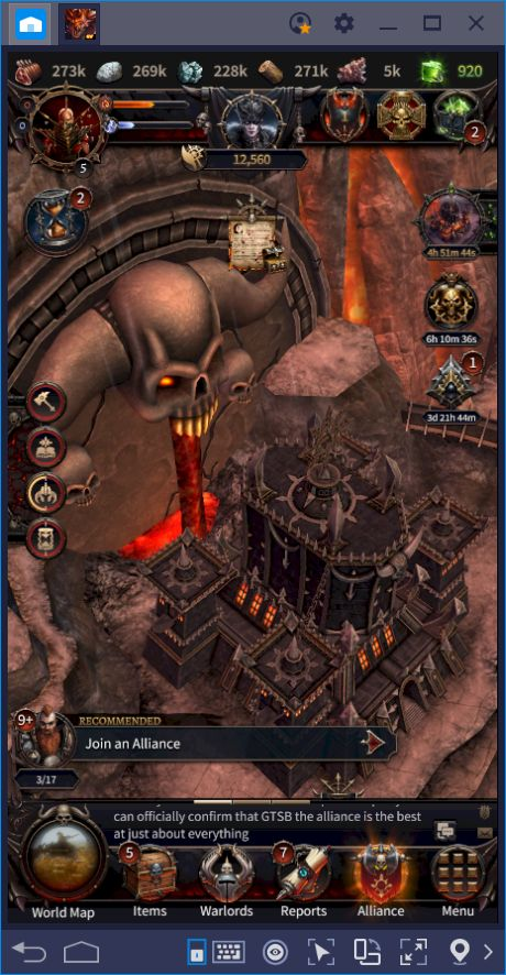 Sow the Seeds of Chaos in the World of Man in Warhammer: Chaos & Conquest