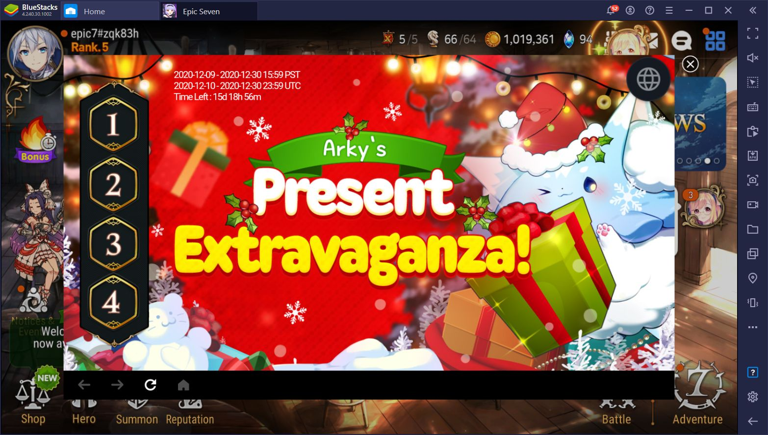 Top 10 Mobile Games That are Hosting Christmas Events in 2020