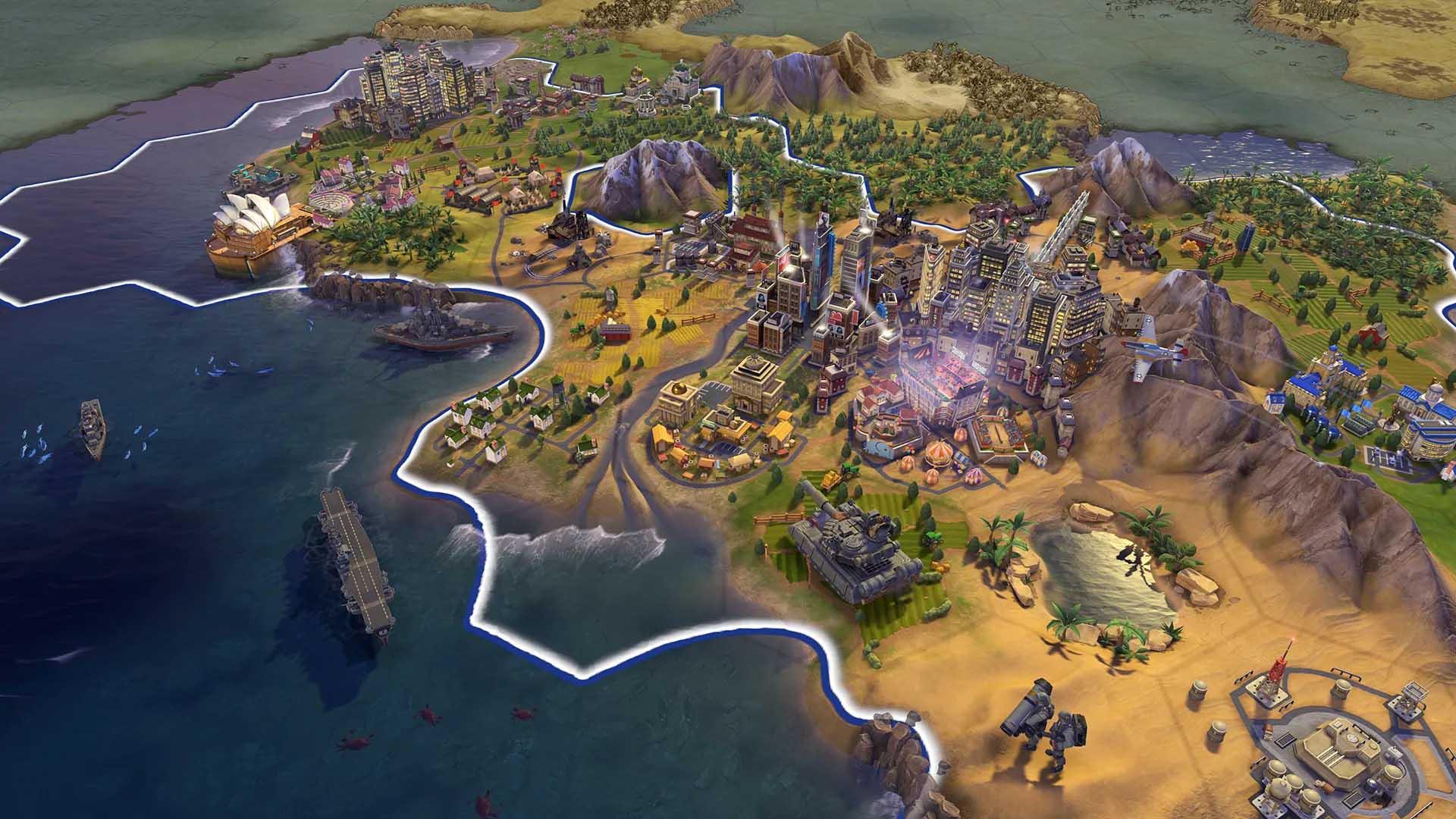 Civilization VI и 2 крупных дополнения стали доступны на Android!