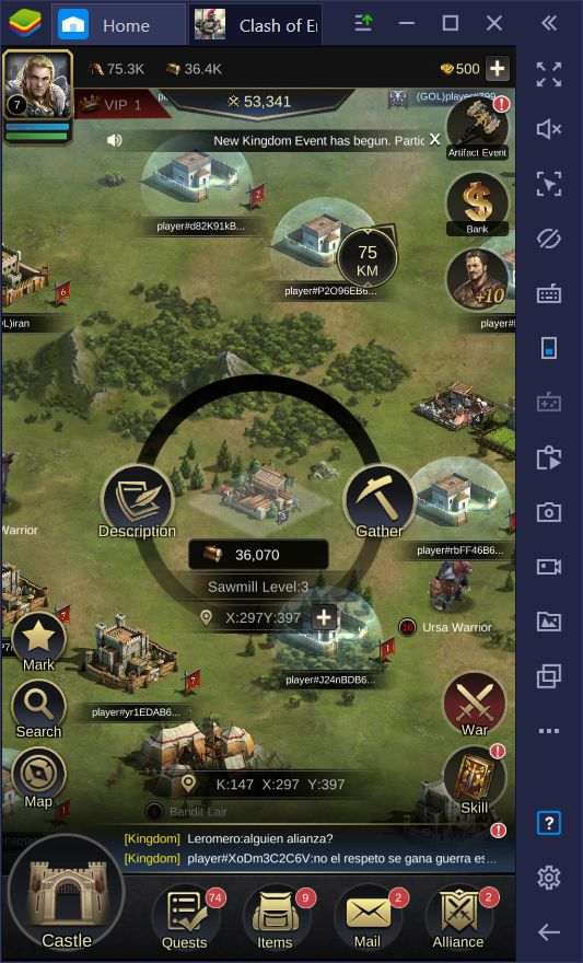 Resource Farming and Gathering Guide for Clash of Empire