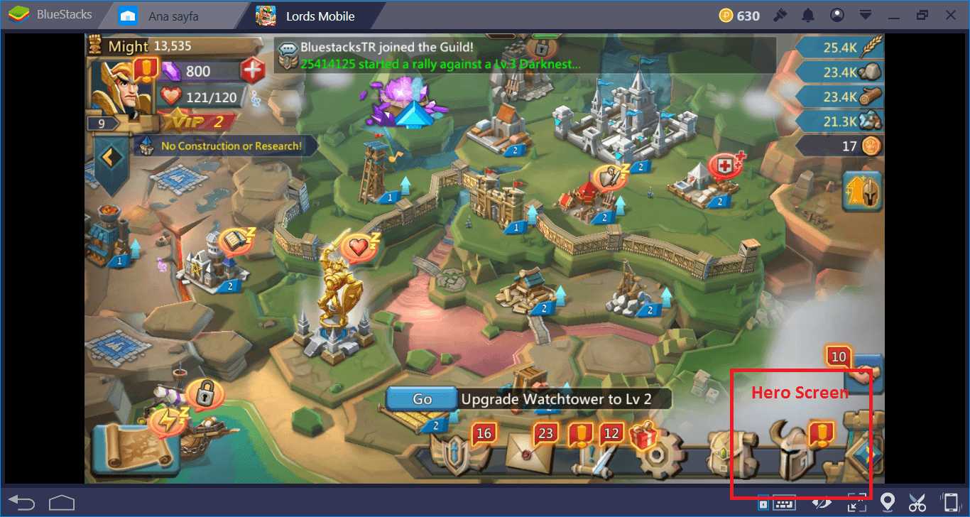 Lords Mobile: The Ultimate Hero Guide | BlueStacks
