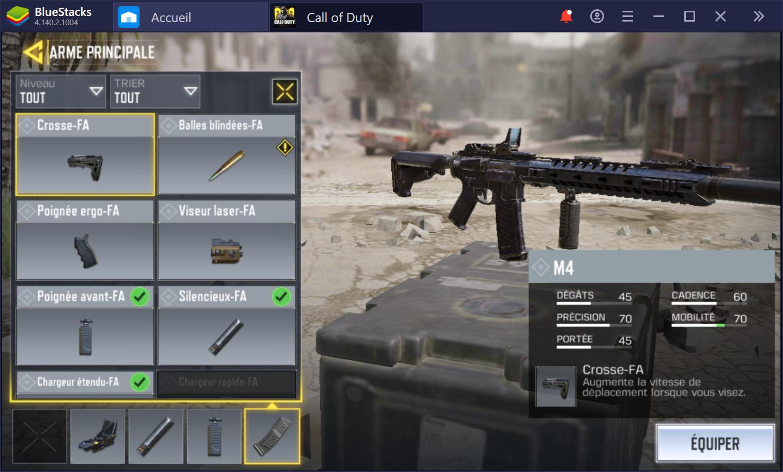 CoD Mobile sur PC – Guide pour obtenir le meilleur équipement possible