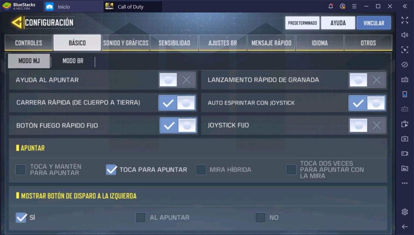 Call of Duty Mobile en PC: Las Mejor Configuración Gráfica y de Controles