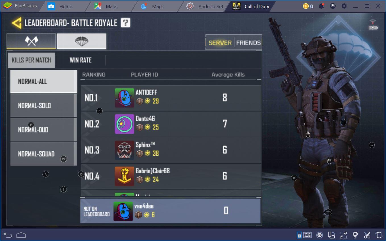 Destruye la Competencia en Call of Duty Mobile con BlueStacks
