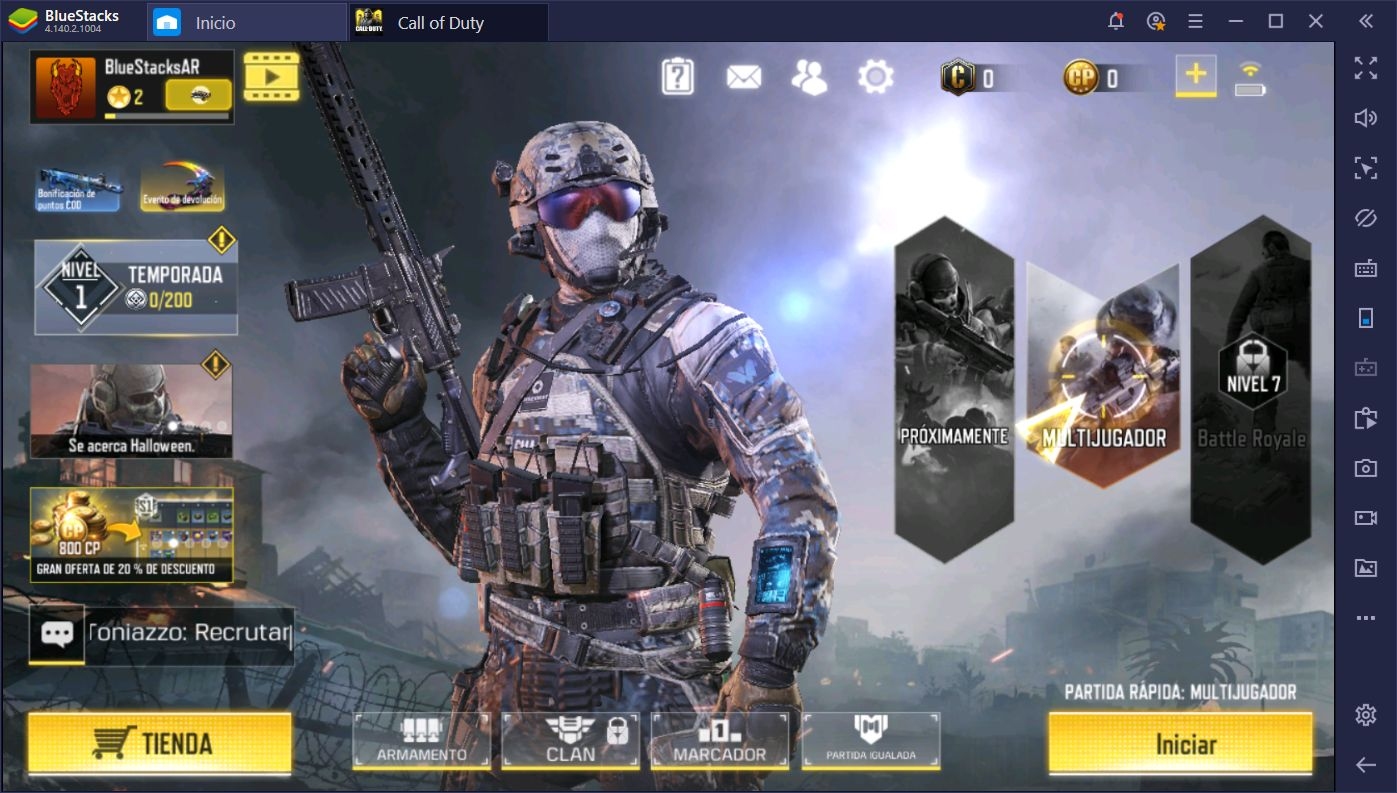 Call of Duty: Mobile en PC — Ya Disponible Para BlueStacks