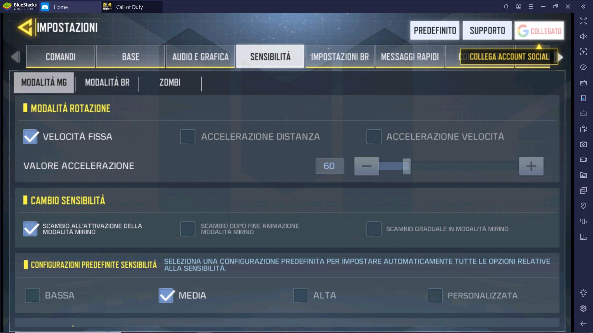 Gioca a Call of Duty Mobile con Bluestacks – Le Impostazioni Migliori