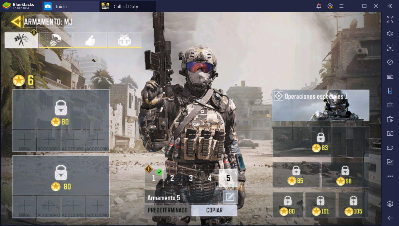 Call of Duty ( CoD ) Mobile en PC: Guía de los Mejores Armamentos