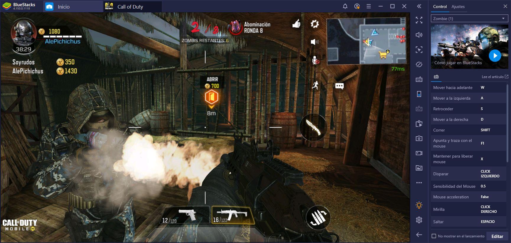 Perfiles de Controles Para Zombis en Call of Duty: Mobile - ¡Tú lo Pediste y Nosotros Cumplimos!