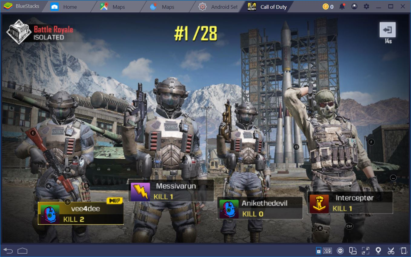Be the Last Player Standing in Call of Duty: Mobile's Battle Royale