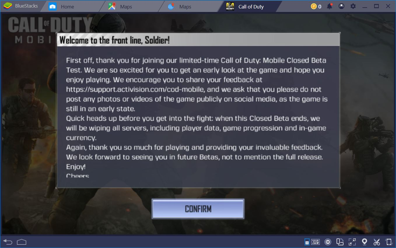 A First Look at the Adrenaline-Fueled Call of Duty: Mobile on PC
