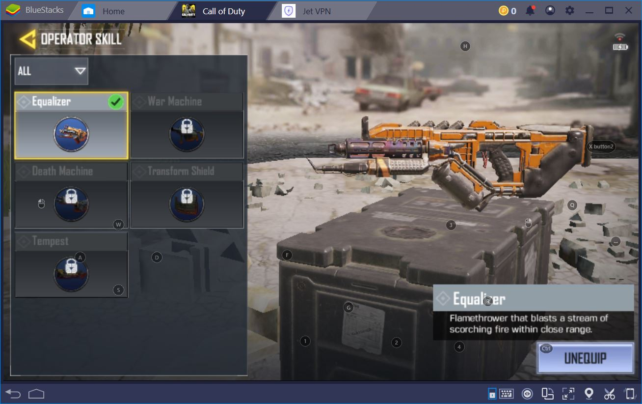 Call of Duty: Mobile on PC- Loadout and Equipment Guide