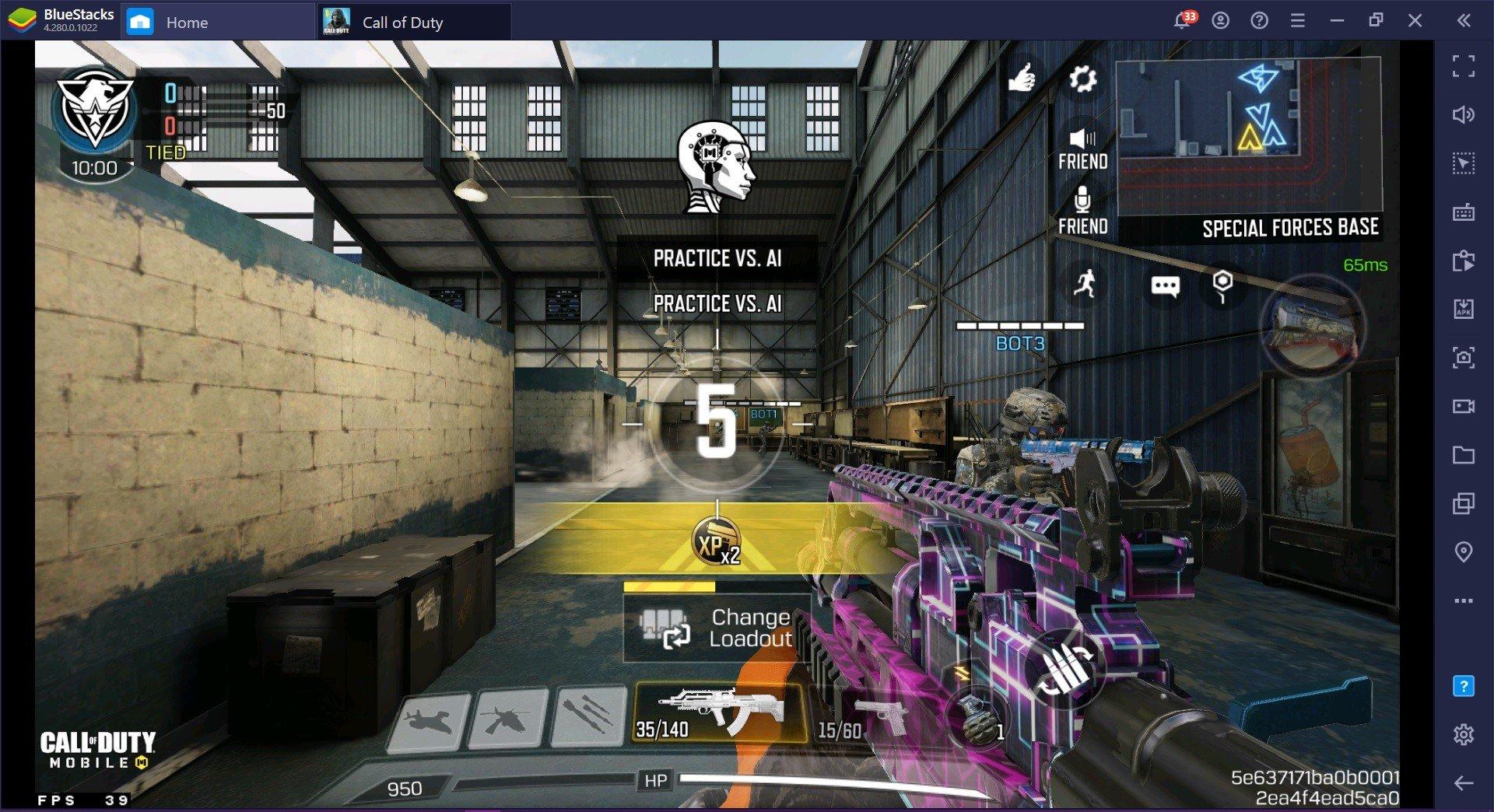 Call of Duty: Руководство по мобильному оружию & # 8212;  BK57 выходит за рамки среднего