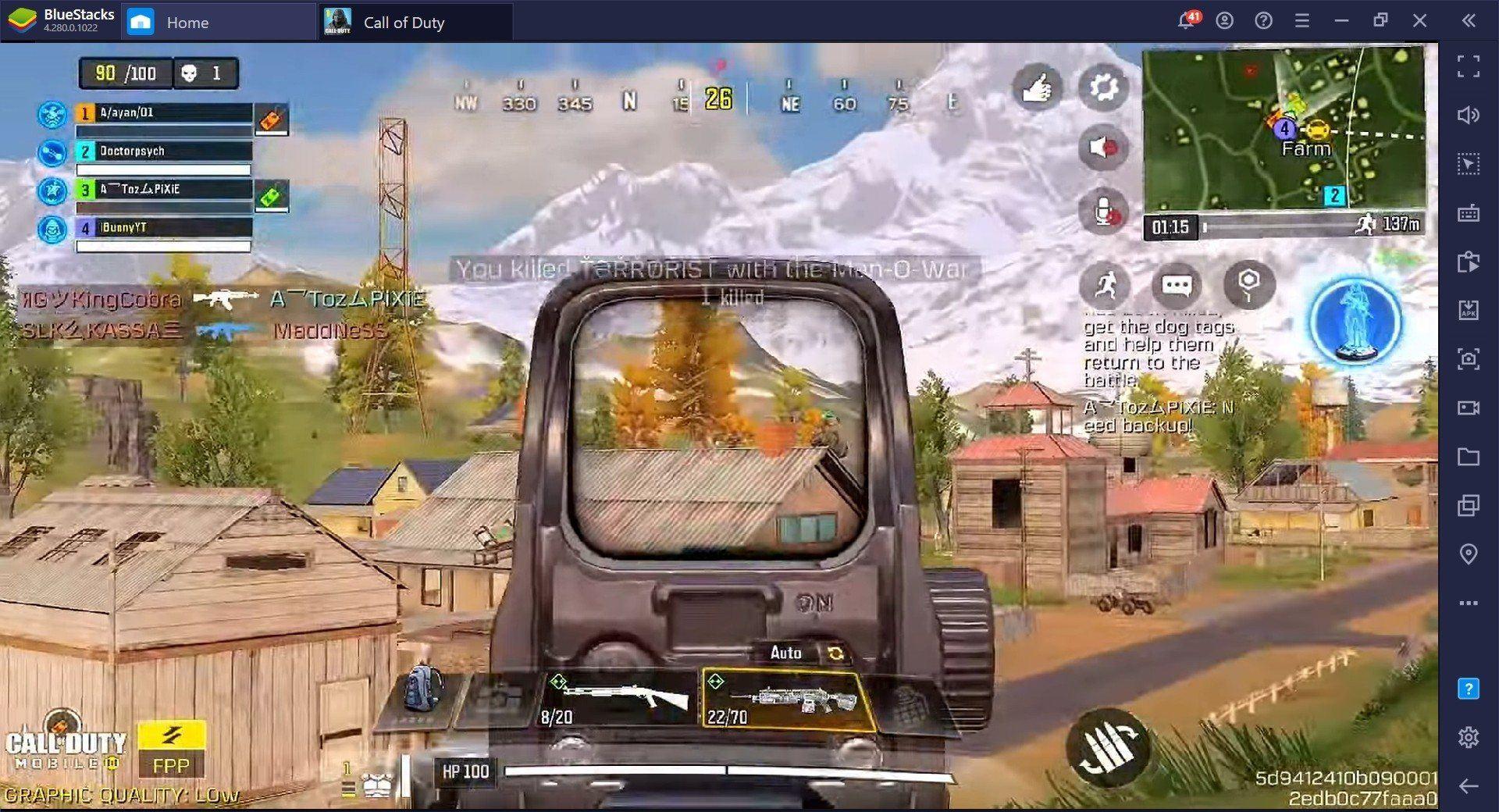 دليل فئة للعبة Call of Duty: Mobile – فك الرموز في فئة الـ Desperado بشكل يائس