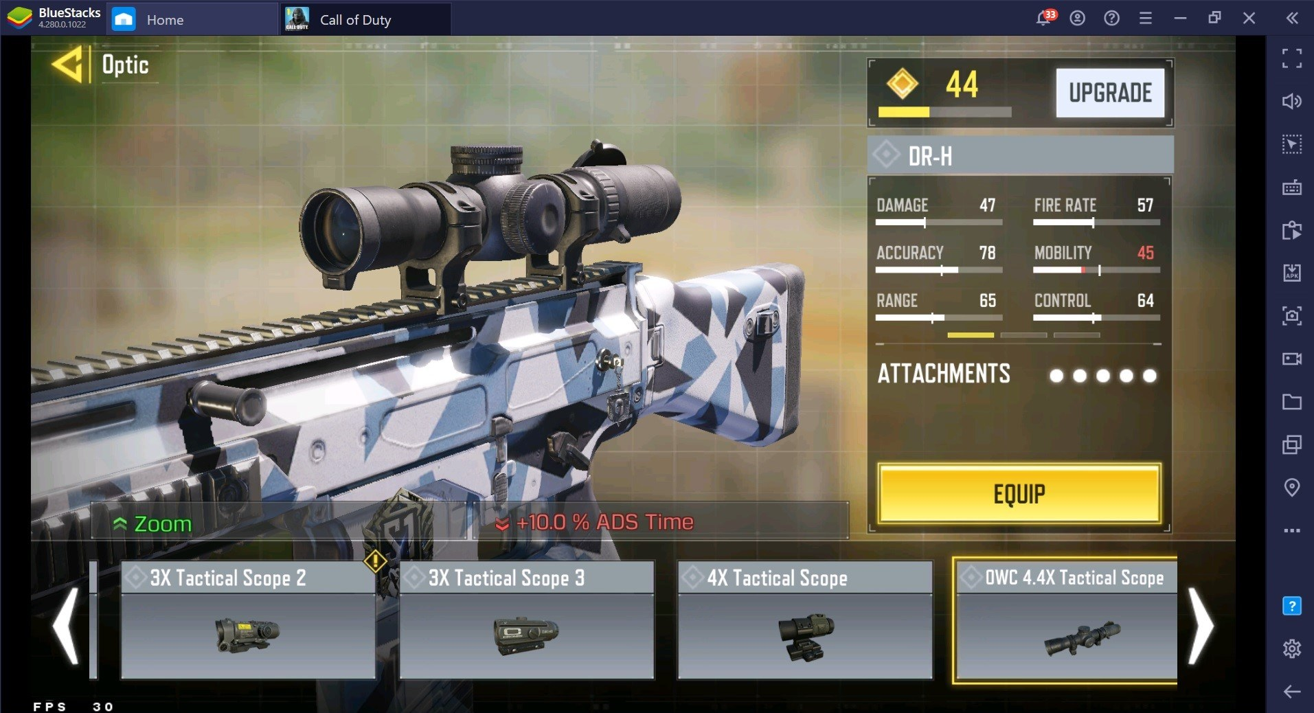 Call of Duty: Mobile AK-47 and DR-H Loadout for Season 3 Games
