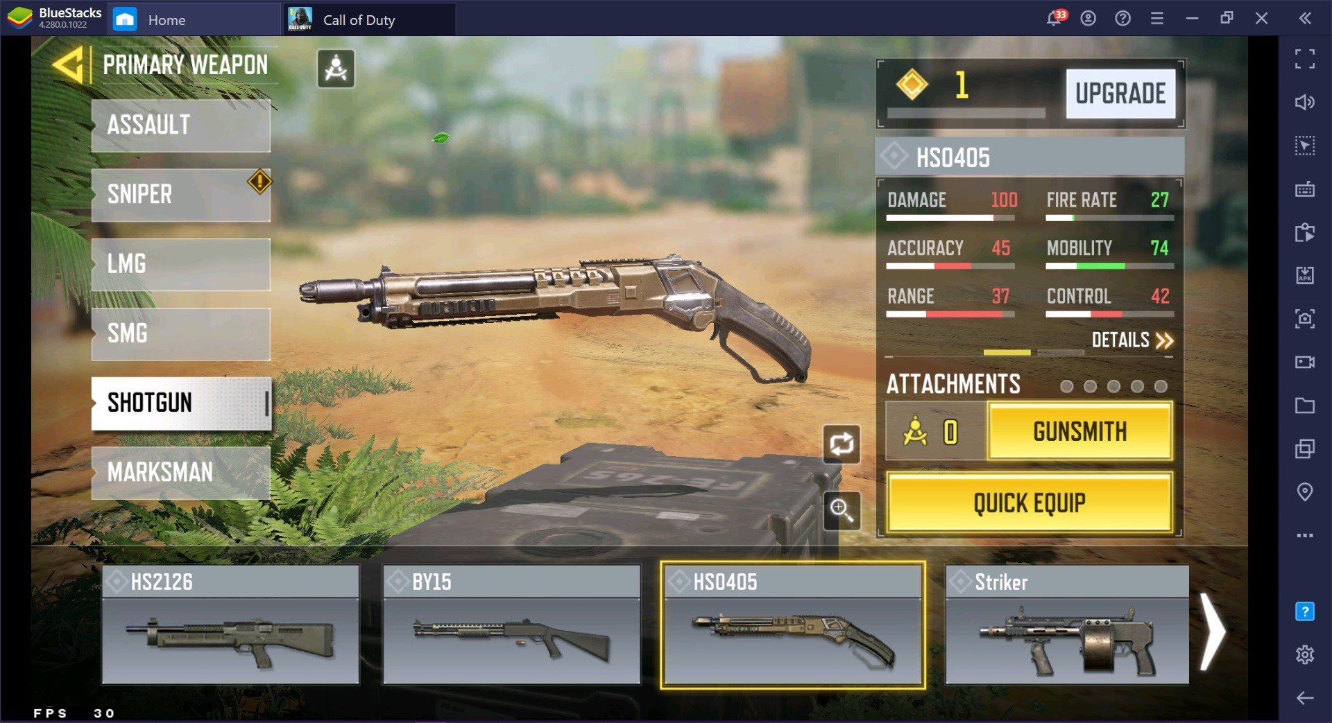 Call of Duty: Mobile Season 4 Weapon Guide for Battle Royale Games