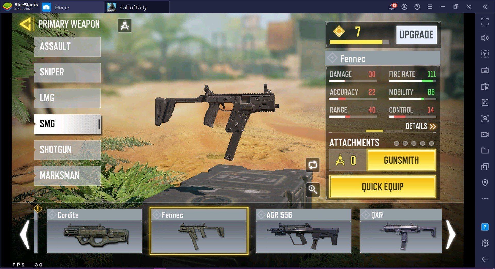 Call of Duty: Mobile  دليل الأسلحة متعددة اللاعبين للموسم الرابع مصنف