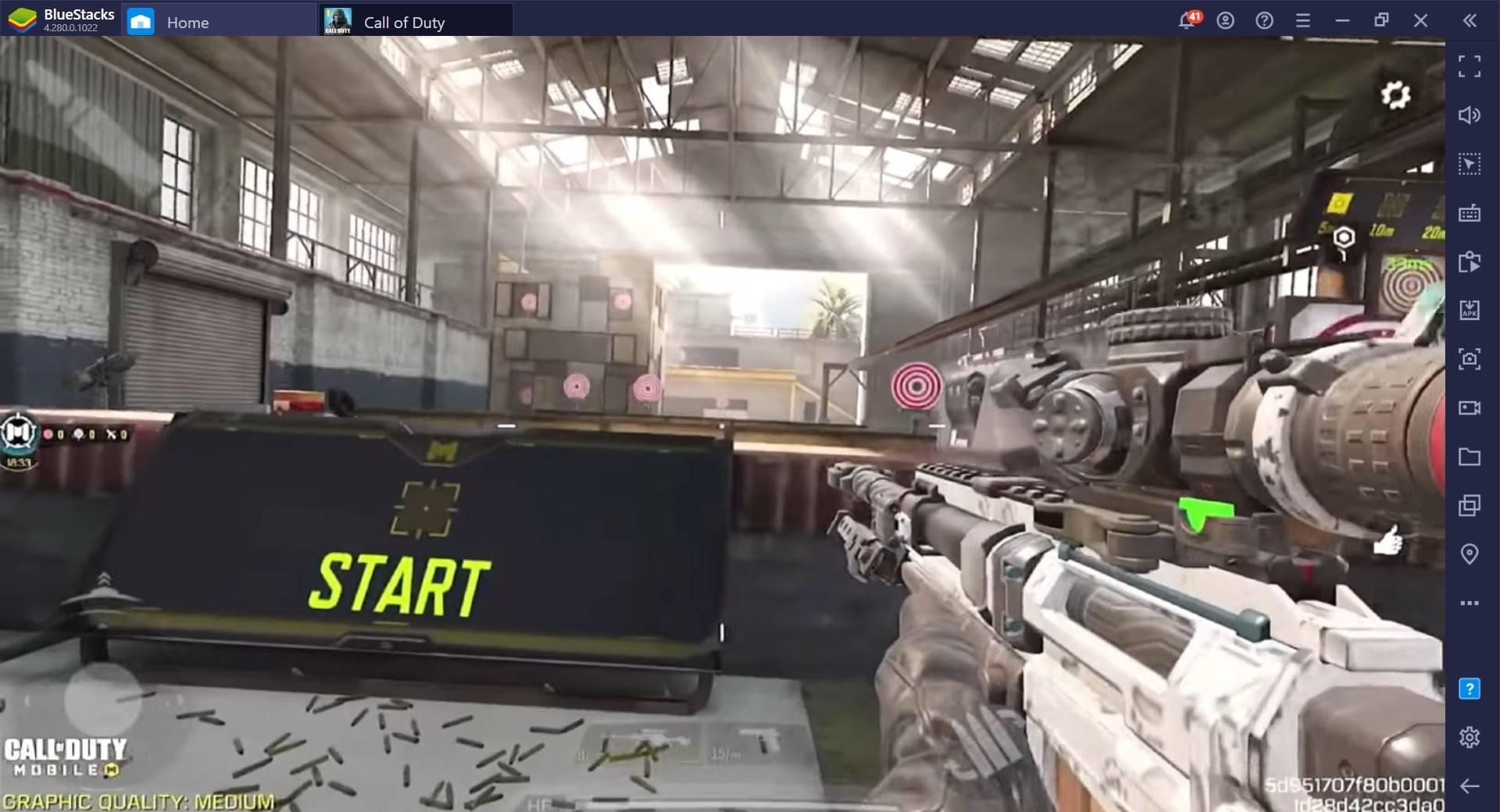 دليل Call of Duty Mobile  للقنص لمستخدمي قناصة DL-Q33، تراتيبة القنص
