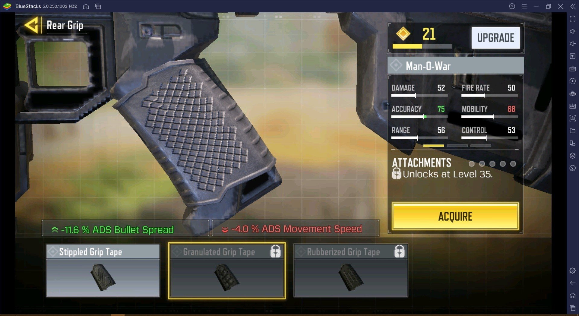 Call of Duty Mobile Man-O-War Weapon Guide for Season 5
