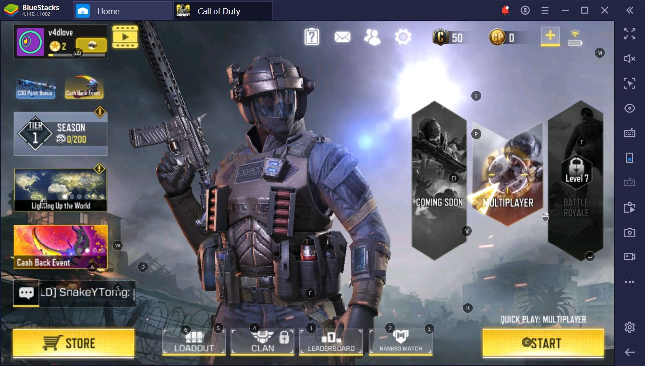 Call of Duty (CoD) Mobile on PC- Land Directly on BlueStacks