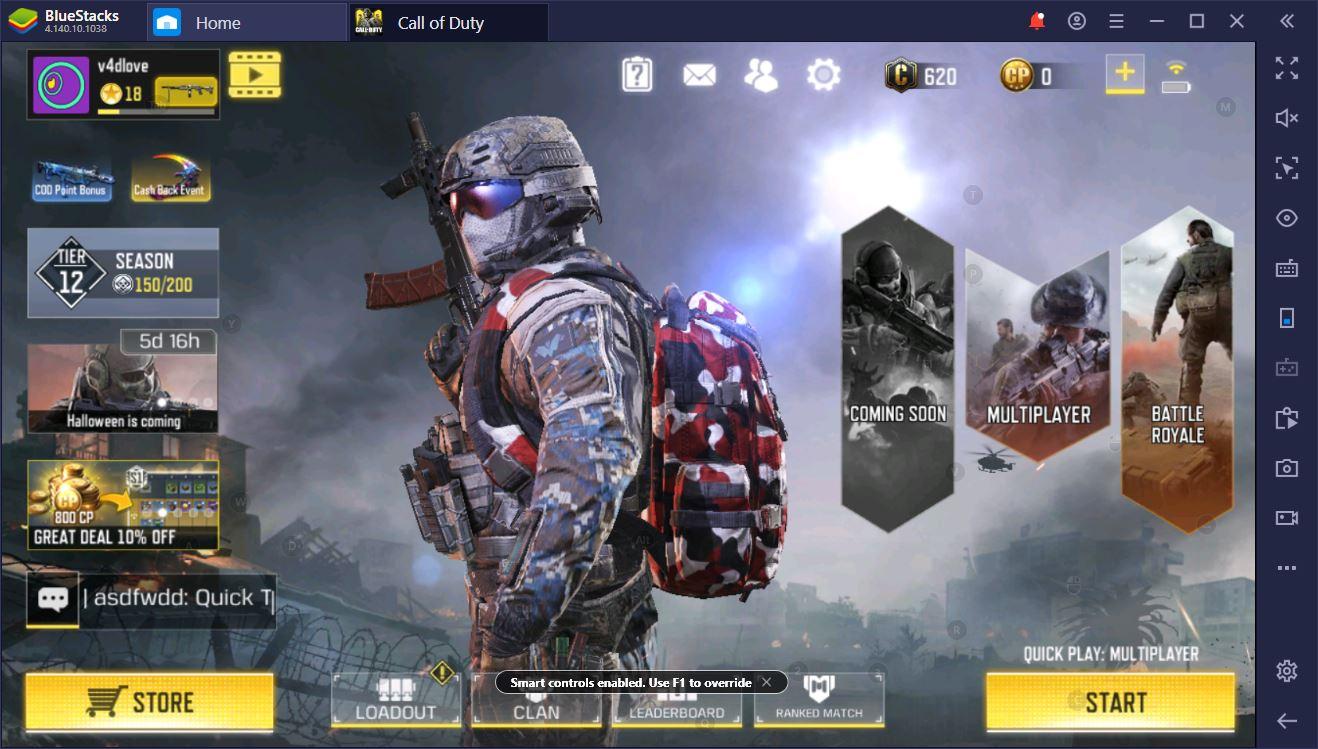 Обновление BlueStacks для Call of Duty: Mobile. Смарт-управление и графика UHD