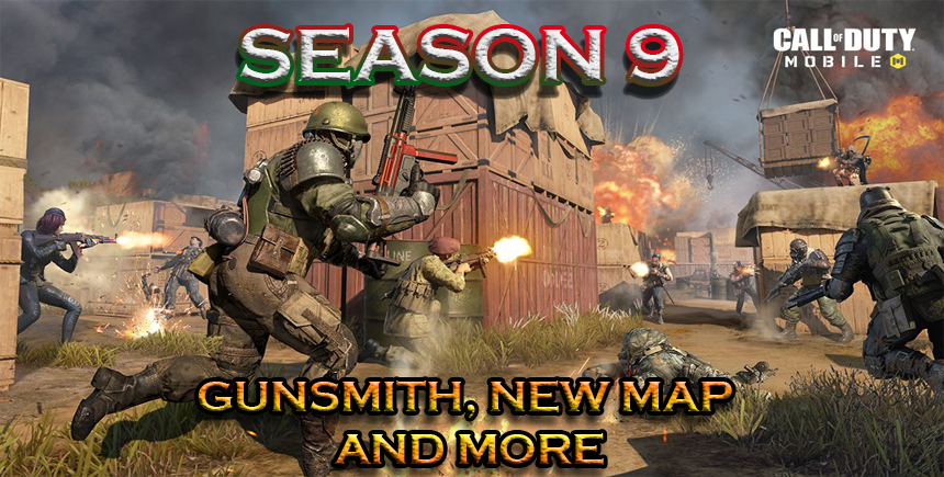 Call of Duty: Mobile Season 9 Update – The Gunsmith Feature, a New Map, and Other Additions