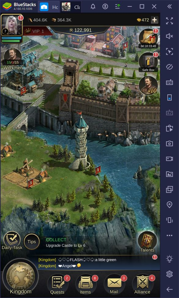 How to Play Clash of Empire on Your PC with BlueStacks