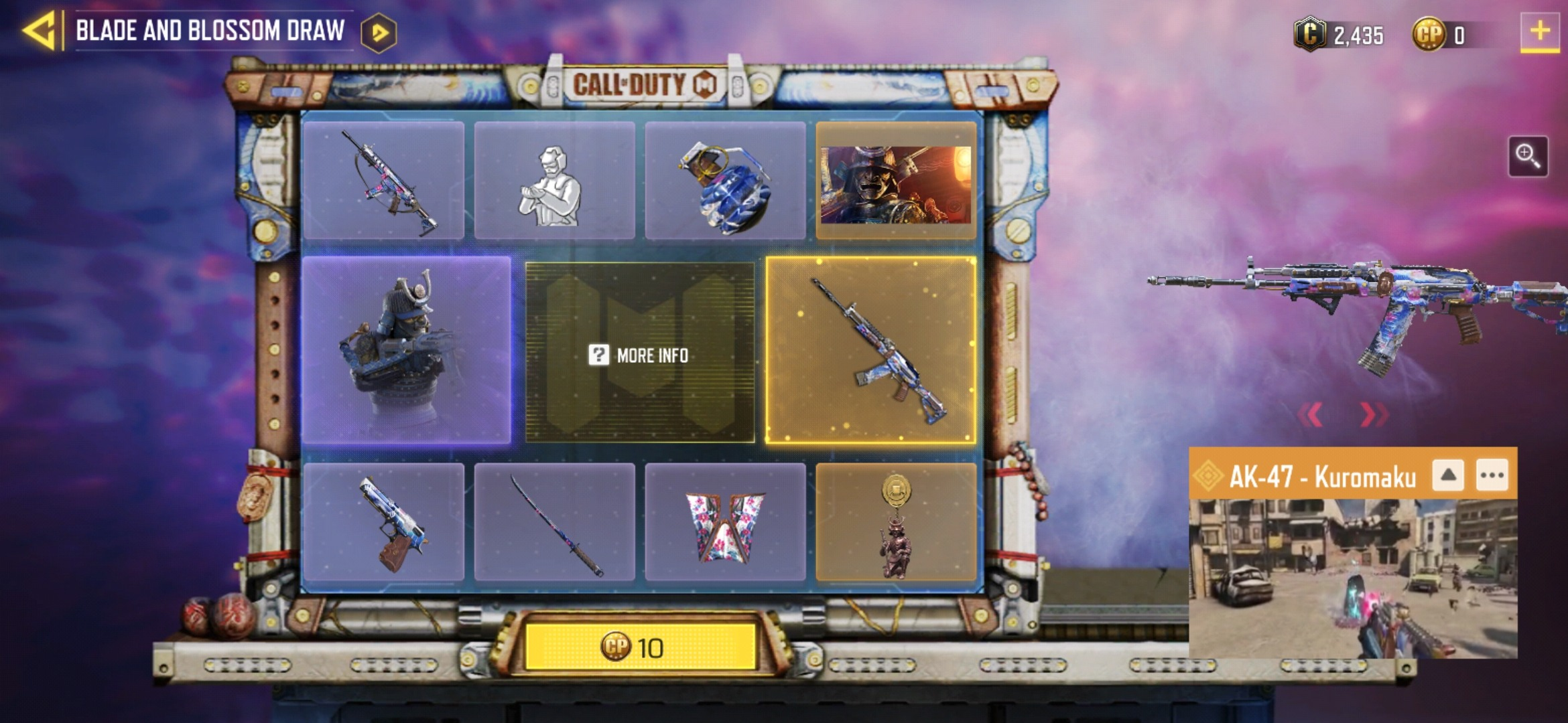 Call of Duty: Mobile Season 3 Blade and Blossom Draw Complete Details