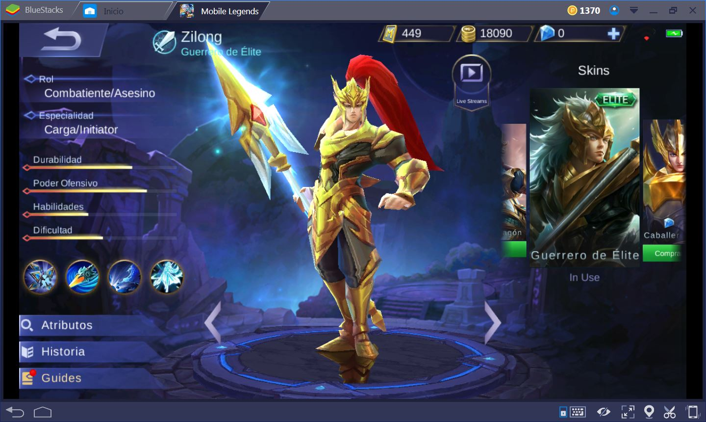 Mobile Legends Combatent Es