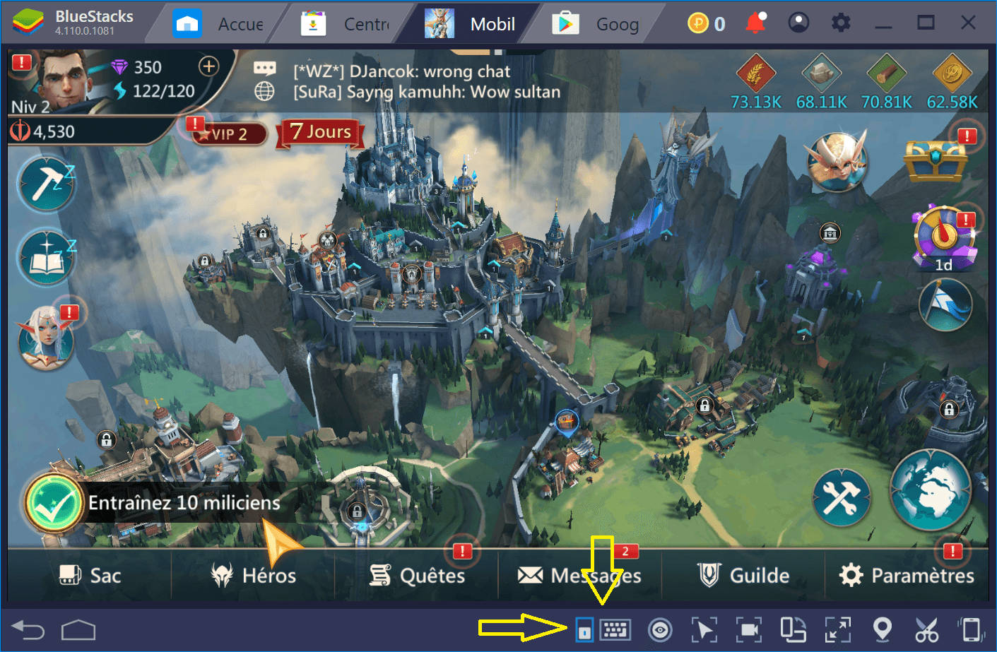 Comment installer et configurer Mobile Royale sur BlueStacks